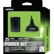 Nyko Power Kit 360: Black for Xbox 360