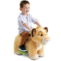 Disney Lion King Simba 6V Plush Ride-On Toy for Toddlers