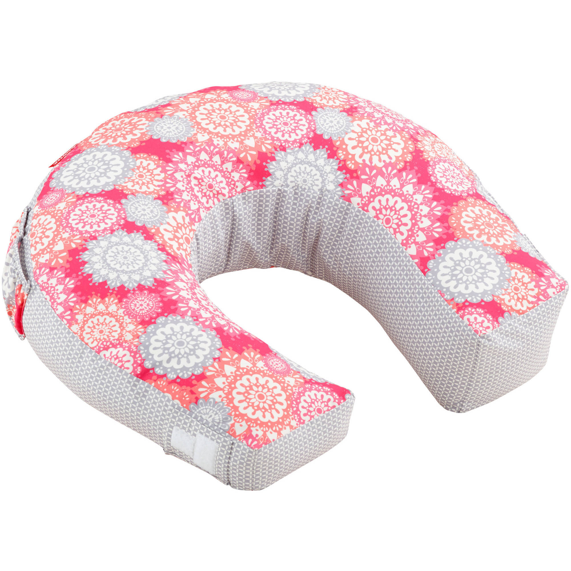 Fisher-Price Perfect Position 4-in-1 Nursing Pillow Cover, Girl