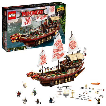 LEGO Ninjago Movie Destiny's Bounty 70618 (2,295 Pieces) - Blue Lego Ninjago
