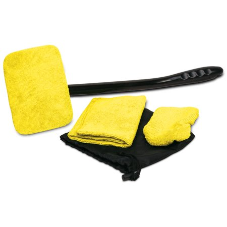 Auto Glass Cleaner Wiper Kit For Car Vehicles Interior Exterior Windshields - High Windshield Kit