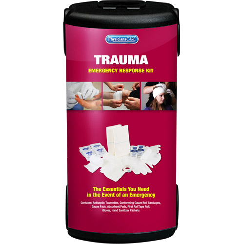 Physicians Care 9pc Emergency Trauma First Aid Kit