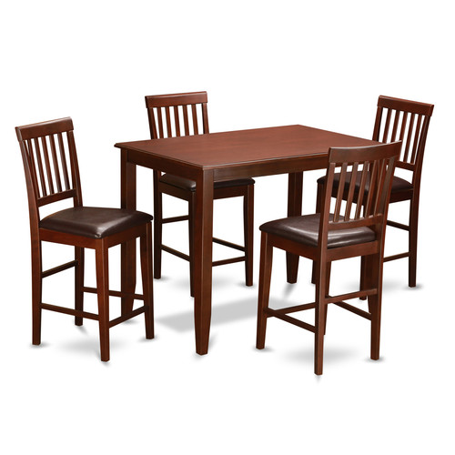 5-Pc Counter Dining Set Upholstered