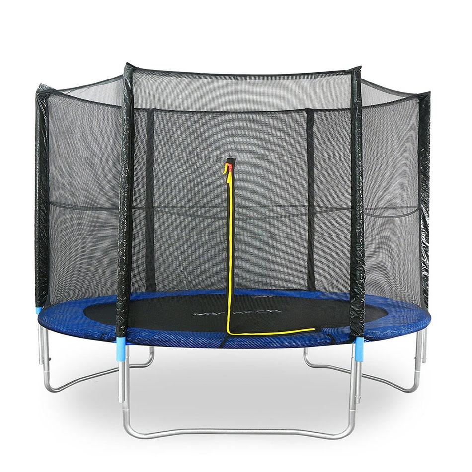 Trampoline Gymnastics Trampoline Outdoor Garden Trampoline With Safety Net Ladder  Fun Exercise
