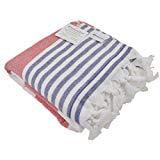 Oversized Turkish Towel Soft Terry Cloth Back Striped Turkish Bath Towel Beach Towel Extra Large Peshtemal Bat