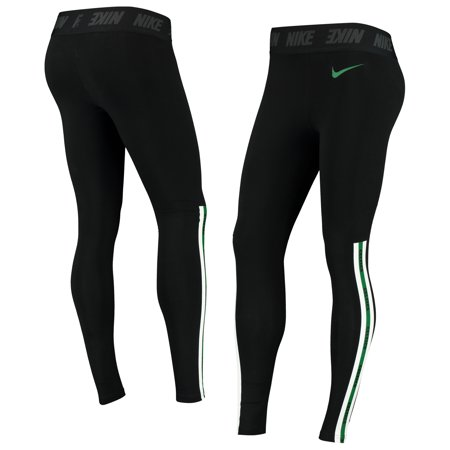 Boston Celtics Nike Women's Leg-A-See Tri-Blend Leggings - Black