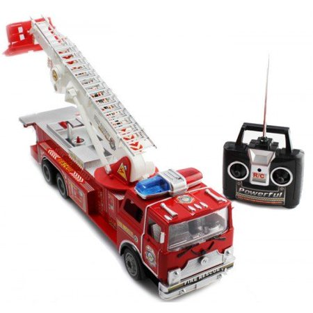 Big Size Remote Control RC Fire Truck Full Functions Good Quality Remote Control Fire Truck