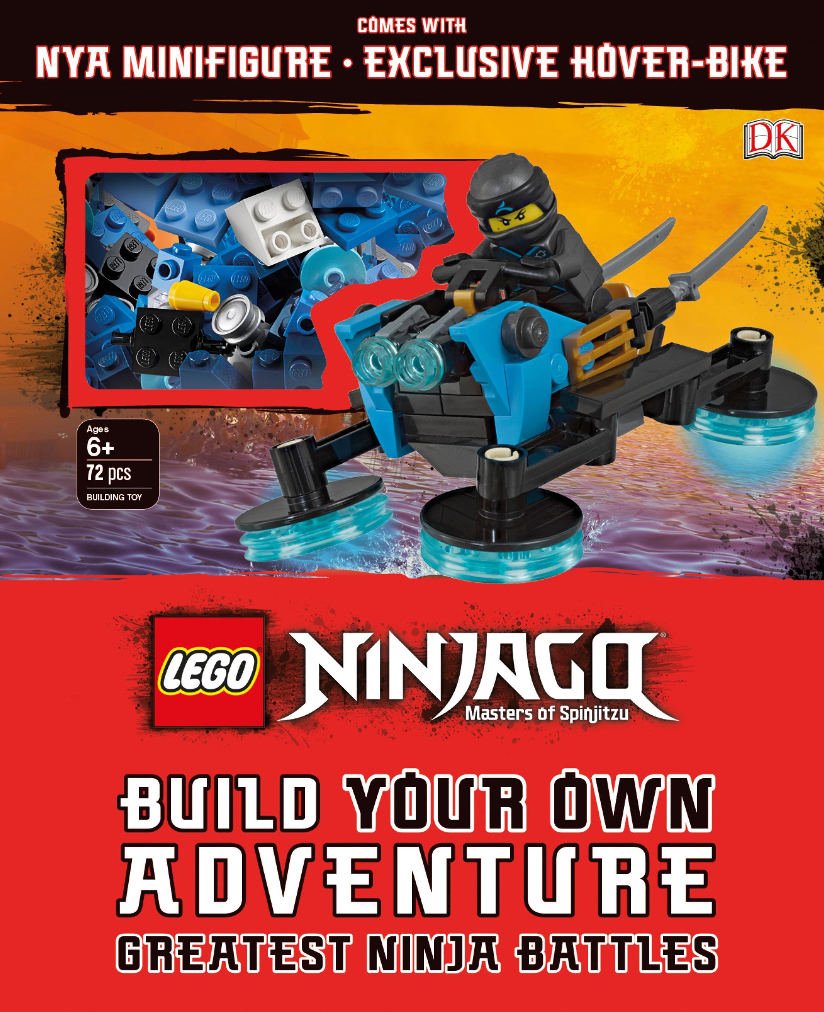 Book of Secrets w// Cole Minifigure   Toys  Ninjas  New! Lego Ninjago