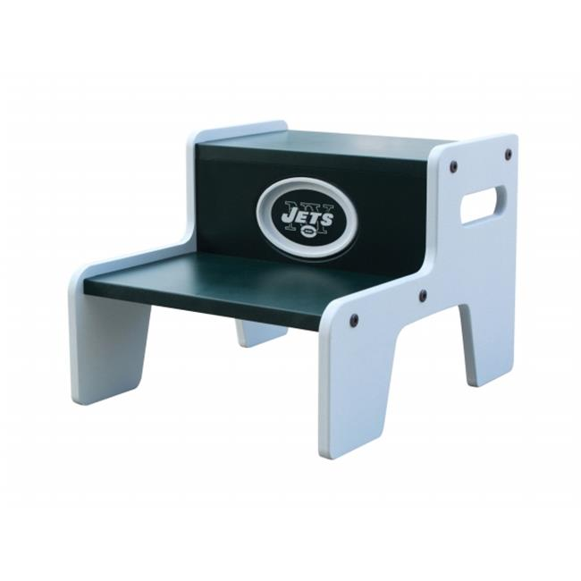 Adventure Furniture N0534-NYJ New York Jets Two Step Stool by Adventure Furniture
