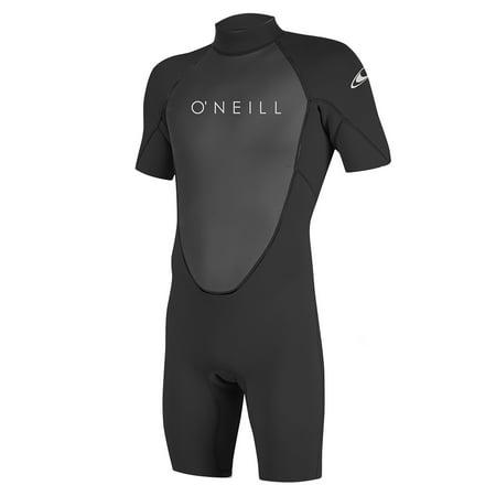 O'NEILL MEN'S REACTOR-2 2MM BACK ZIP S/S SPRING (Oneill Print Wetsuit)