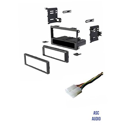 asc car stereo install dash kit and wire harness to install an aftermarket  single din radio for 1998 1999 chevrolet metro and 1995 1996 1997 geo metro