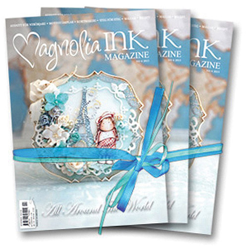 Magnolia INK Magazine 2013 No.4, Around The World, English Edition