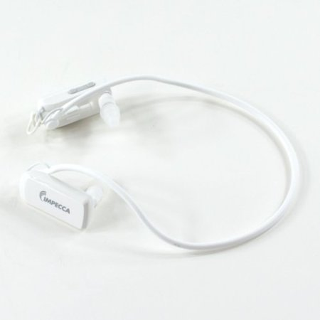 Impecca Mpwh40 4 Gb Flash Mp3 Player - White - Mp3, Wma - 10