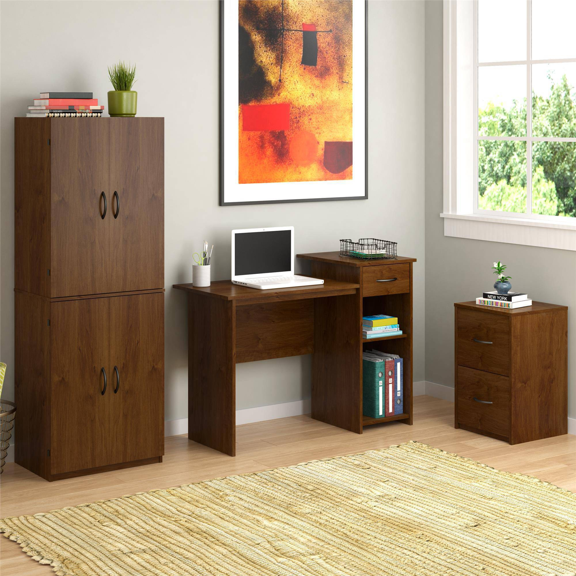 Superieur ... Multiple Finishes Mainstays Student Desk With Easy Glide Drawer, Multiple  Finishes ...