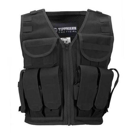 Tippmann Paintball Accessory Vest Black Special Ops Paintball Vests