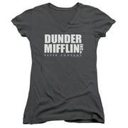 The Office Dunder Mifflin Juniors V-Neck Shirt