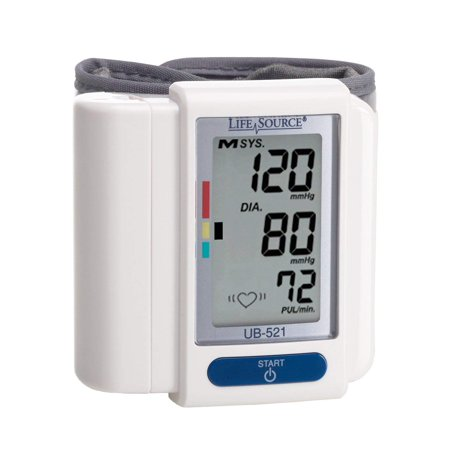 Digital Wrist Blood Pressure Monitor (UB-521), Wrist cuff is easy to put on By