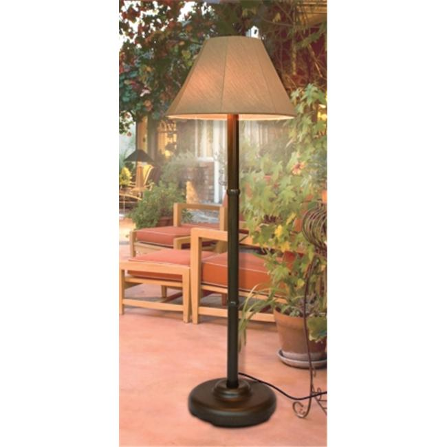 Outdoor Lamp company 110Brz Traditional Shade Lamp Bronze by Outdoor Lamp company
