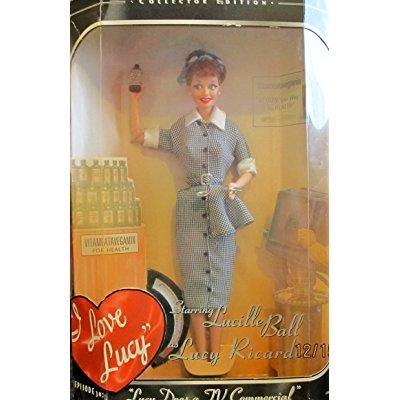 Barbie: I Love Lucy - Lucy Does a TV Commercial - I Love Lucy Car Accessories