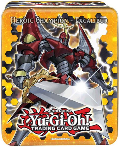 YuGiOh 2012 Collector Tin Heroic Champion Excalibur Collector Tin by