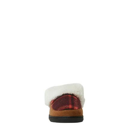 DF by Dearfoams Women's Flecked Clog Slippers