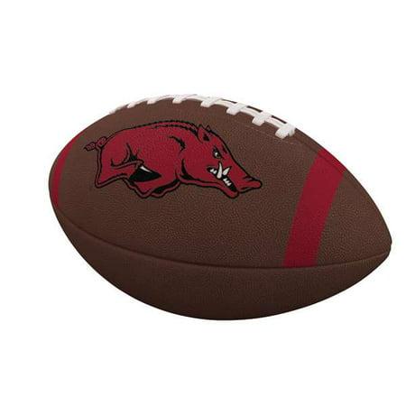 Arkansas Razorbacks Team Stripe Official-Size Composite Football