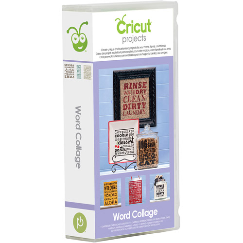 Cricut Projects Word Collage Cartridge