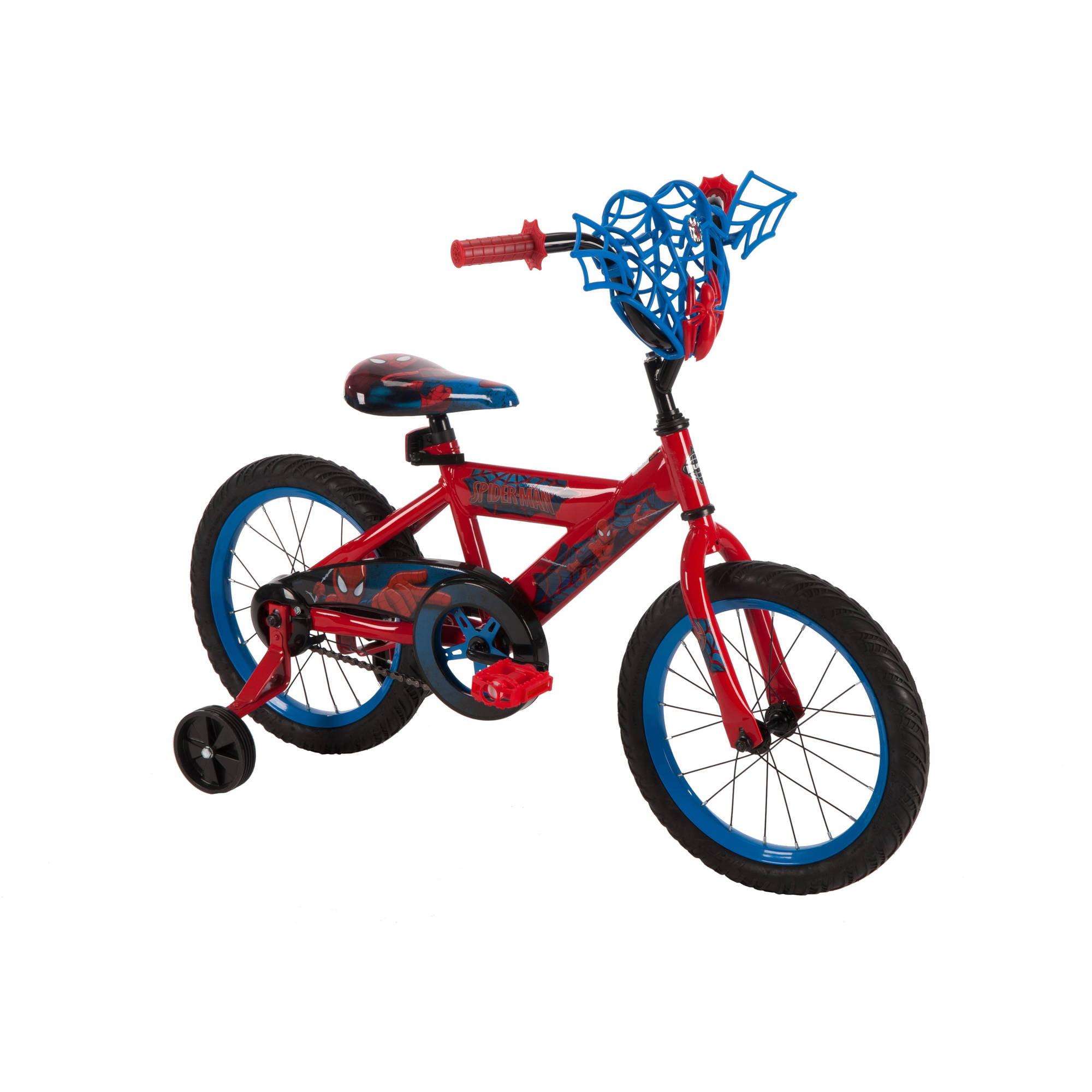 "16"" Huffy Boys' Marvel Ultimate Spider-Man Bike"