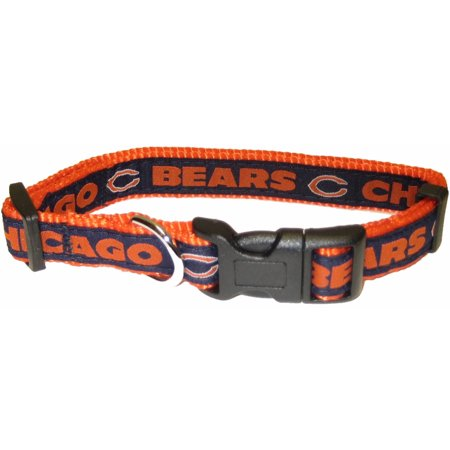 Chi Bears - Pets First NFL Chicago Bears Pet Collar