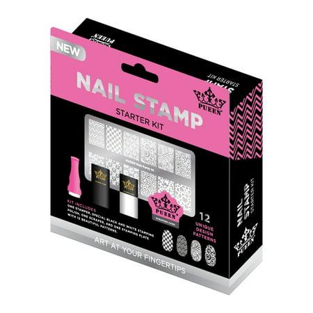 Pueen Nail Stamp Starter Kit Walmart Com