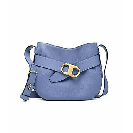 Tory Burch Gemini Link Shoulder Bag in Wallis Blue