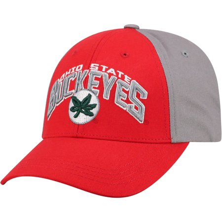 Ohio Football Hat (Men's Scarlet/Gray Ohio State Buckeyes Tastic Adjustable Hat - OSFA )