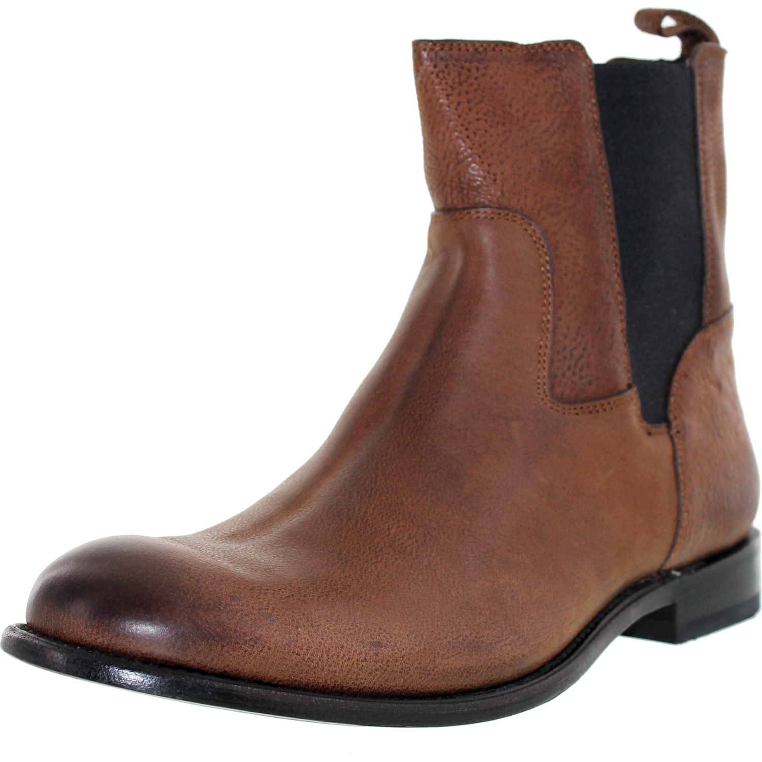 J.D. Fisk Men's Dortmund Brown Ankle-High Leather Boot - 9.5M