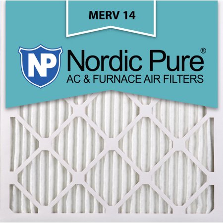 18x18x1 pleated merv 14 ac furnace air filters qty 6 - walmart.com