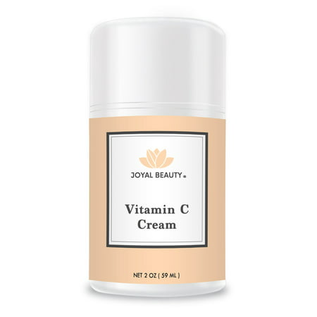 Best Vitamin C Cream by Joyal Beauty-Rich in Vitamins C, E, A, B5. Herbal Skin Healer for Dry Patch, Wrinkles, Acne, Eczema. Best Intense Hydration Moisturizer to Nourish and Soften Your
