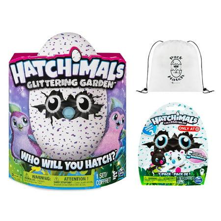 Hatchimals Glittering Garden Penguala   Colleggtibles Blind Bag  Season 2    Pack A Hatch Cinch Backpack Combo