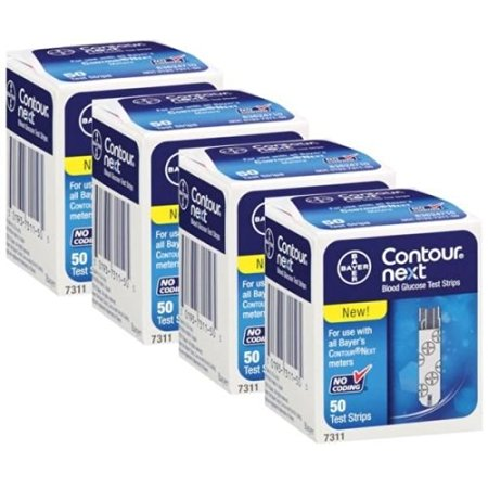 Bayer Contour Next Test Strips  4 Boxes of 50