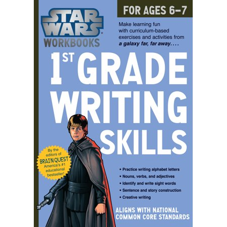 Star Wars Workbook: 1st Grade Writing Skills - - First Grade Art Projects For Halloween