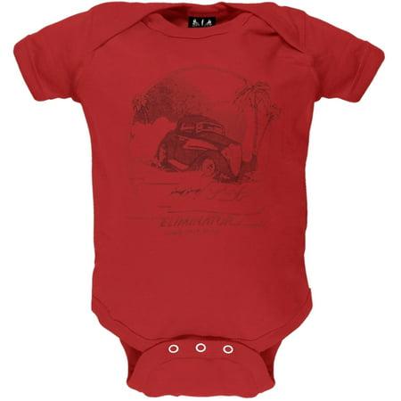 ZZ Top - Lil' Roadstar Red Baby One Piece