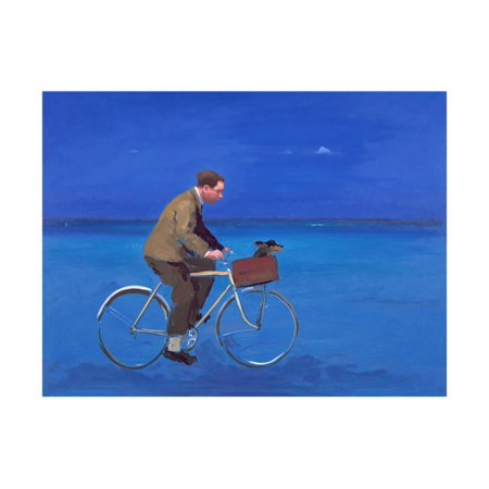 Cyclist, 2005 Print Wall Art By Alan Kingsbury