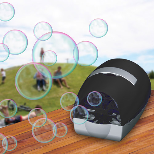 Bubble Machine, Black. Party, Wedding, Event, New Year, Birthday Party, Dancing, Need to buy Bubble Juice (80204) to make the product bubbling. Product Size: 10x7x7
