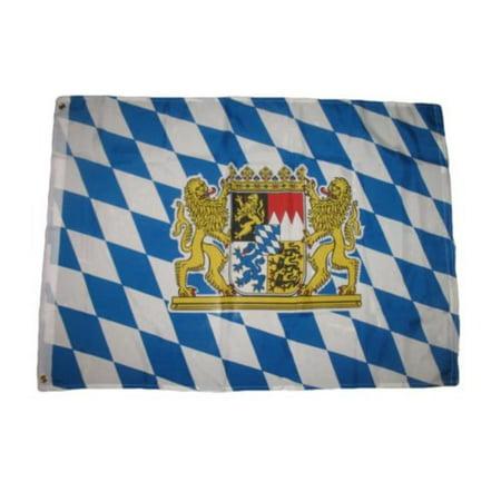 2x3 German Bavaria Lion Oktoberfest Bavarian Beer Flag 2x3 House Banner BEST Garden Outdor Decor polyester material FLAG PREMIUM Vivid Color and UV.., By