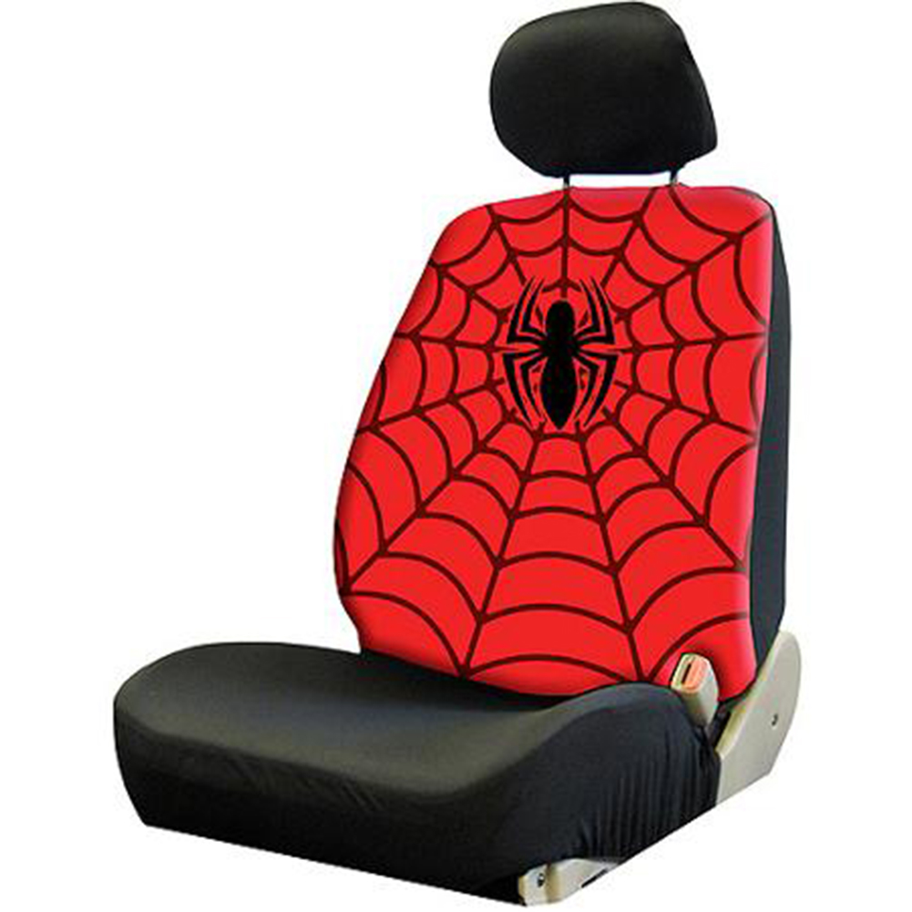 Plasticolor Low-Back Seat Cover, Marvel Spider-Man
