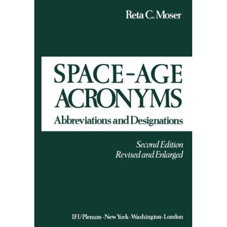 Space Age Acronyms  Abbreviations And Designations