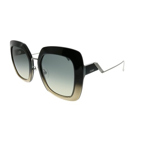 Fendi Tropical Shine FF 0317 7C5 PR Women Square Sunglasses