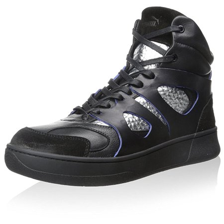 Puma McQ Move Mens Black/Silver Me Sneakers