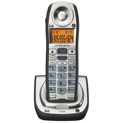 GE DECT 6.0 Digital Interference Free Expandable Handset