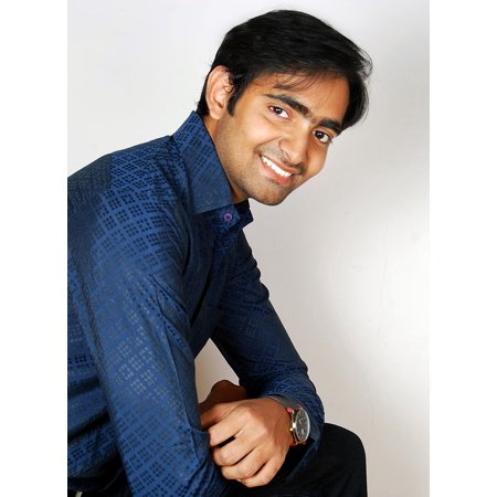Canvas Print Man Young Business Portfolio Professional Handsome Stretched Canvas 10 x (Best Male Model Portfolio)