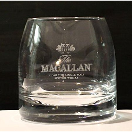 Highland Single Malt Scotch Whiskey Promotional Tumbler (Glass), The Macallen Highland Single Malt Scotch Whiskey Promotional Tumbler (Glass) By The