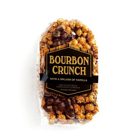 South Bend Bourbon Crunch Popcorn 16 oz each (4 Items Per